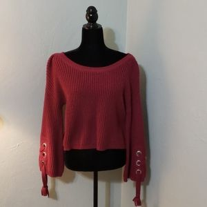 Love by Design cropped sweater
